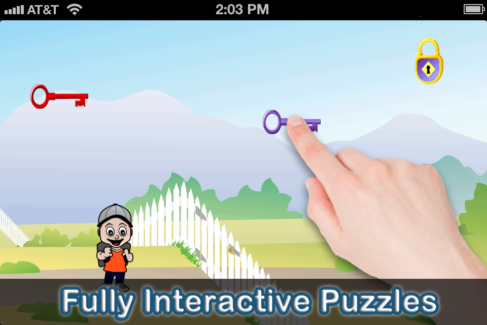 Screenshot Timmy's Preschool Adventure Lite – A Free Learning Game for Toddlers